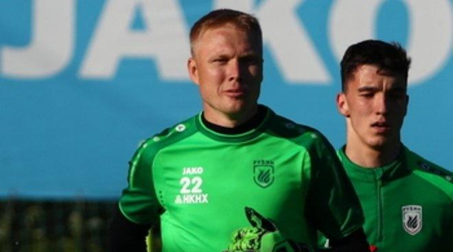 Вратарь Юрий Дюпин перешёл вказанский «Рубин»
