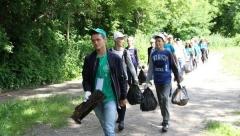 Казанцы очистили от мусора Голубое озеро