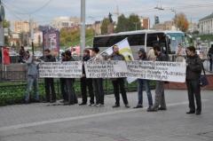 Новости  - В центре Казани защищали честь пророка