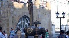 Новости  - На улице Баумана в Казани появился новый арт-объект