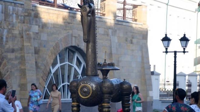 На улице Баумана в Казани появился новый арт-объект