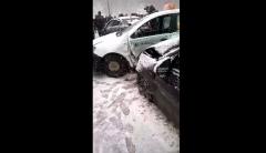Новости  - На территории республики произошла крупная дорожная авария