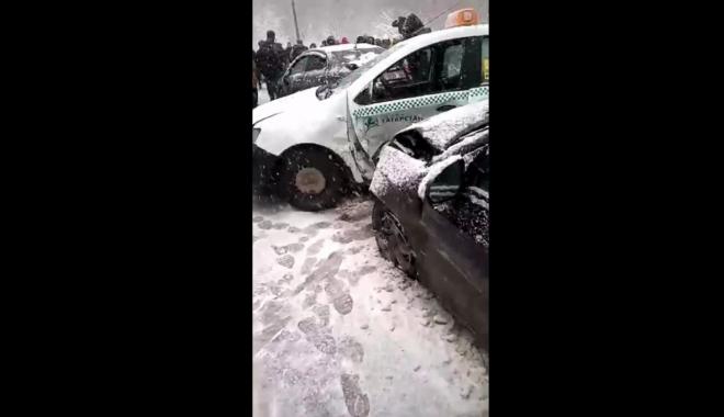 На территории республики произошла крупная дорожная авария