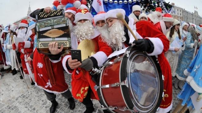 Сегодня в Казани пройдет парад Дедов Морозов