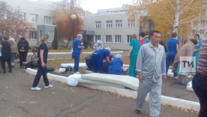 В МКДЦ произошло задымление: были эвакуированы 314 пациентов