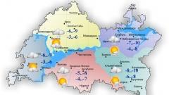 Новости  - 27 ноября в Татарстане облачность и небольшие осадки
