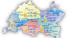 Новости  - Температура воздуха днем прогреется сегодня до +22..+27˚