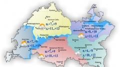 Новости  - 28 августа ожидается прохладная дождливая погода