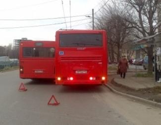 В Казани при столкновении автобусов пострадали 7 человек