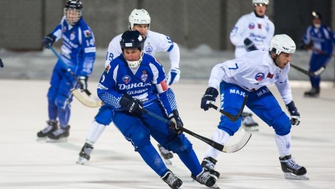 «Динамо-Казань» проиграло московскому «Динамо» в хоккее с мячом