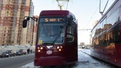 Новости Транспорт - Количество трамваев на маршрутах №5 и №5а в Казани увеличится