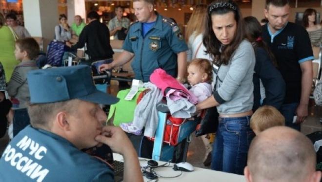 МЧС РТ: В Казань прибыло ещё 280 беженцев из Украины, в том числе 90 детей