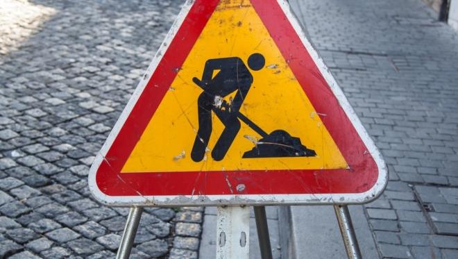 На проспекте Победы ограничено движение транспорта до конца сентября