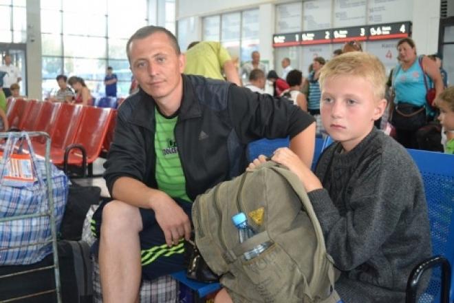 В Казань прибывает поезд с украинскими беженцами