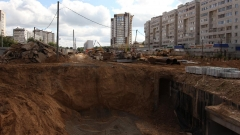 Новости  - Ограничение движения по улице Зорге в Казани вновь продлено.