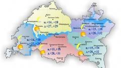 Новости  - Сегодня по Татарстану небольшой дождь местами