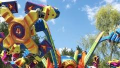 Парк аттракционов «Кырлай» в Казани возобновил работу в новом летнем сезоне