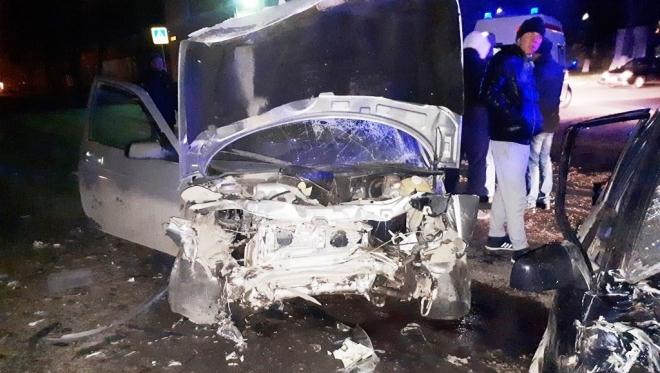 Новости  - Серьезное ДТП произошло накануне на улице Магистральная