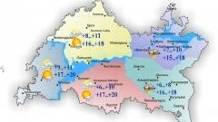 Новости  - Новая неделя в Татарстане начинается с похолодания