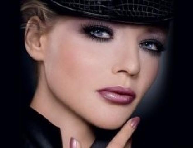 Тенденции зимнего макияжа в 2013 году