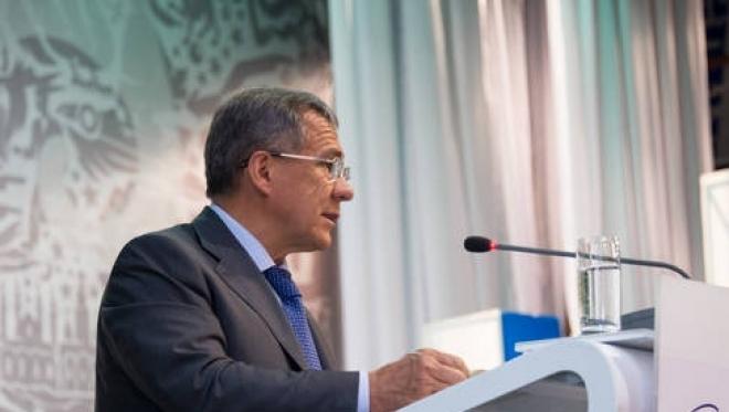 Президент Татарстана приехал в Японию для участия в международном форуме