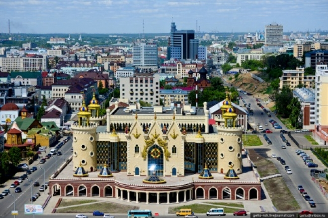 Казань вошла в ТОП–3 российских городов для путешествий с детьми