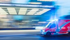 В Казани автомобиль сбил ребенка, который переходил дорогу по пешеходному переходу