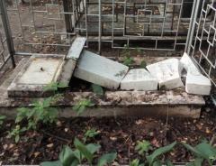 Новости  - Вандалов, устроивших погром на Ново-Татарском кладбище, так и не нашли