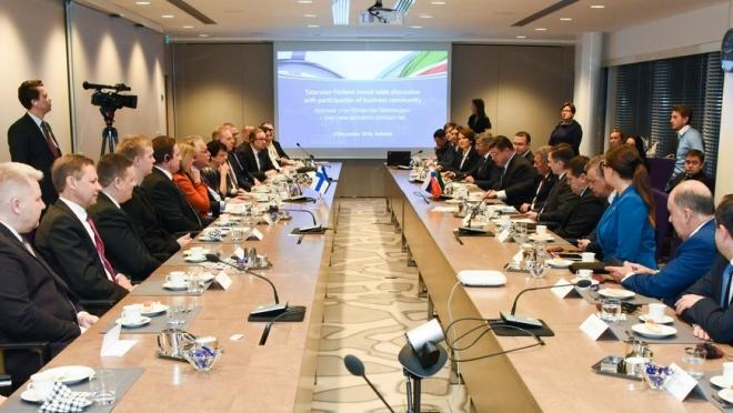 Татарстанские чиновники во главе с президентом приехали в Финляндию