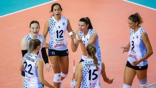 Казанские волейболистки обыграли волгодонский «Импульс»