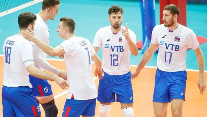 Российская волейбольная команда проиграла в матче с США