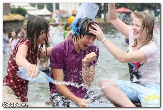 В воскресенье казанцы вооружатся против жары водными пистолетами