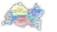 Новости Погода - 17 марта в Татарстане до 11 градусов мороза и умеренный снег
