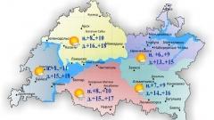 Сегодня по Татарстану ожидается дождь