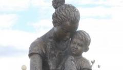 Новости  - В селе Базарные Матаки установили памятник Матери