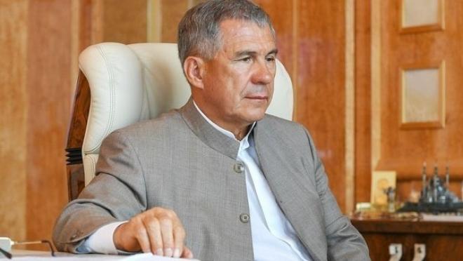 Рустама Минниханова зарегистрировали в качестве кандидата на выборы президента республики