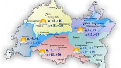 Новости  - 4 октября воздух в Татарстане прогреется до максимальных 20 градусов