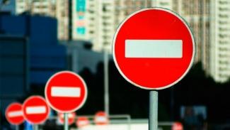 По проспекту Ибрагимова и улицы Хайдара Бигичева ограничено движение транспорта