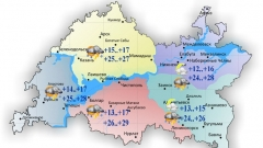 Новости  - Сегодня воздух в Татарстане прогреется до 29 градусов тепла