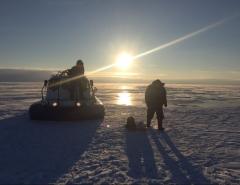 Новости  - Татарстанские спасатели спасли от холодной смерти двух рыбаков
