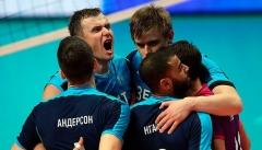 Казанские волейболисты выиграли у «Франкфурта»