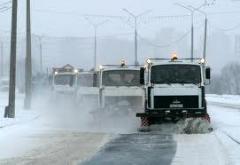 Новости  - На улицы Казани вышла снегоуборочная техника