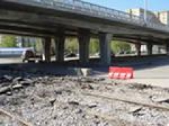 Новости  - На перекрестке Ямашева – Мусина убрали часть строительных заграждений (Казань)