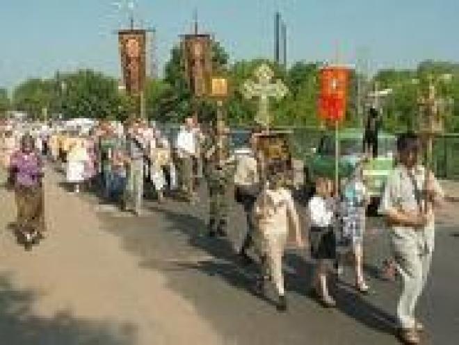 Пять улиц Казани перекроют в связи с крестным ходом