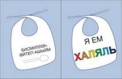 Новости  - В Казани появились мусульманские слюнявчики